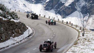 Oldtimer beim Großglockner Grand Prix