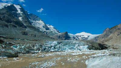 Die Pasterze, der Gletscher am Großglockner