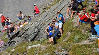Der Großglockner Berglauf bei der Hochalpenstrasse