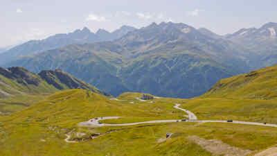 Panorama der Großglockner Hochalpenstraße