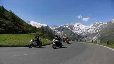 Traumhafte Motorradtour auf der Hochalpenstraße