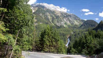 Die Gerlosalpenstraße und ihr Ausblick