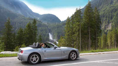 Cabriotour auf der Gerlos Alpenstrasse