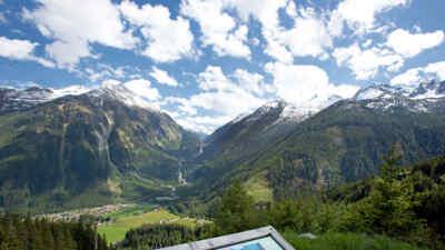 Aussichtsplattform auf der Gerlos Alpenstrasse
