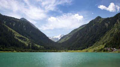 See auf der Gerlos Alpenstrasse