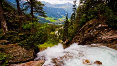 Wasser Welten Gerlos Alpenstrasse