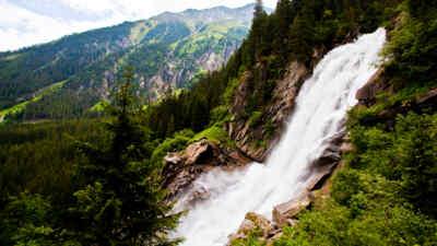Besuchen Sie die Krimmler Wasserfälle