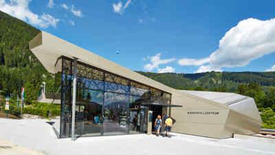 Eintritt Wasserfallzentrum