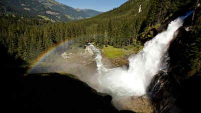 Krimmler Wasserfälle von oben